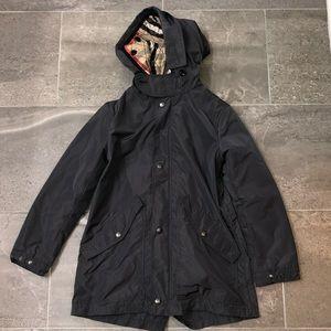 Boys Authentic Burberry Raincoat, Size 10